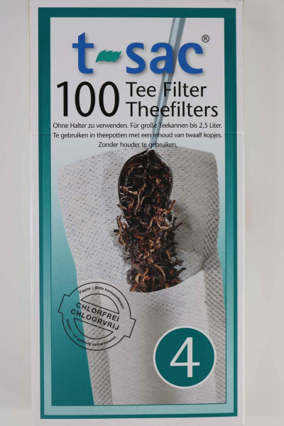 100 große Tee-Filter